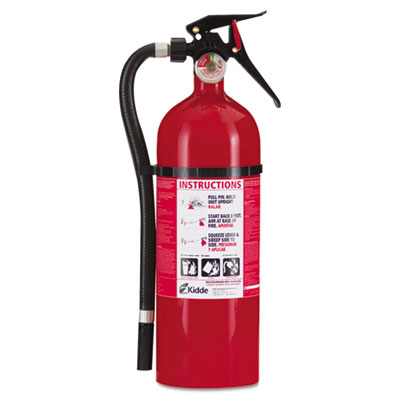 Service lite multi-purpose dry chemical fire extinguisher, 5lb, 3-a, 40-b:c, sold as 1 each