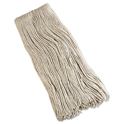 Cut-end mop head, cotton, 32 oz, white, sold as 1 each