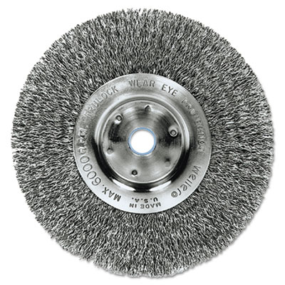 "Trulock tln-6 narrow-face crimped wire wheel, 6"""" dia, .008 wire, sold as 1 each"