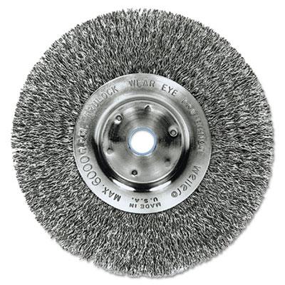 "Trulock tln-6 narrow-face crimped wire wheel, 6"""" dia, .008 wire, sold as 1 each"