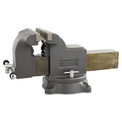 Ws8 shop vise, swivel base, 8in jaw, sold as 1 each