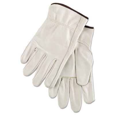 4000 series cowhide leather driver gloves, large, sold as 12 pair