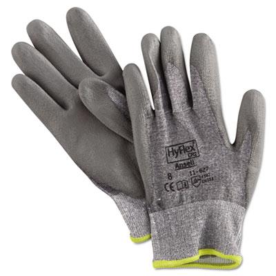 Hyflex 627 light-duty gloves, size 8, dyneema/lycra/polyurethane, gy, 12 pairs, sold as 12 each