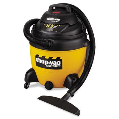 Industrial wet/dry vacuum, 18gal, 6.5 peak hp, sold as 1 each