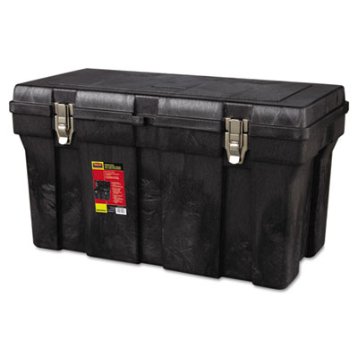 Durable tool box, 36in, black, sold as 1 each
