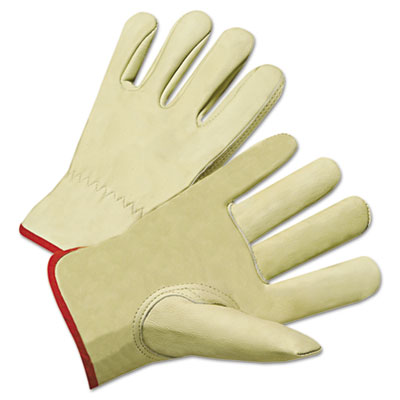 4000 series cowhide leather driver gloves, xl, sold as 12 pair