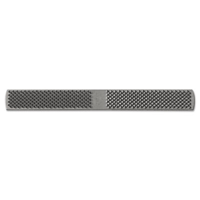 American pattern rectangular plain 1/2-horse rasp file, 14in, sold as 1 each