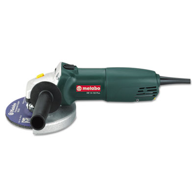 Small angle grinder, 6in wheel, 9.6 amp, 9,000 rpm, sold as 1 each