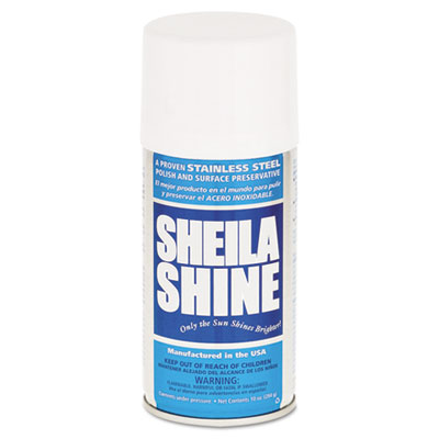 Stainless steel cleaner & polish, 10oz aerosol, sold as 1 each