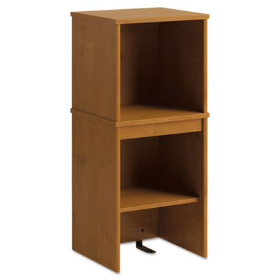 Envoy series narrow hutch, 16w x 14-1/4d x 36-1/4h, natural cherry, sold as 1 each