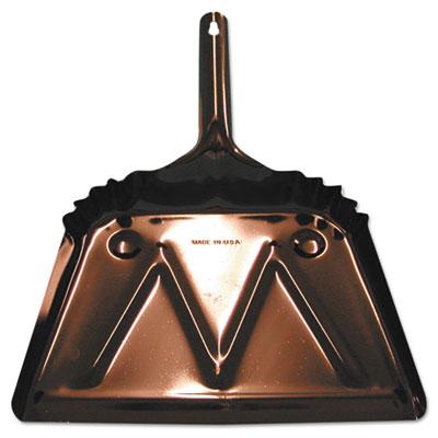 """Metal dust pan, beveled edge, 16"""""""" wide, sold as 1 each"""