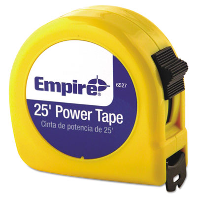 "Tape measure, 1"""" x 25ft, 3-language packaging, sold as 1 each"