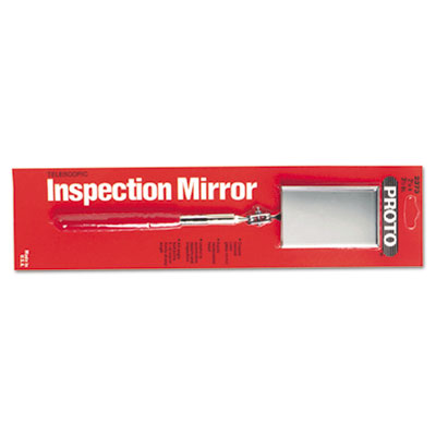 Inspection mirror, circle, sold as 1 each