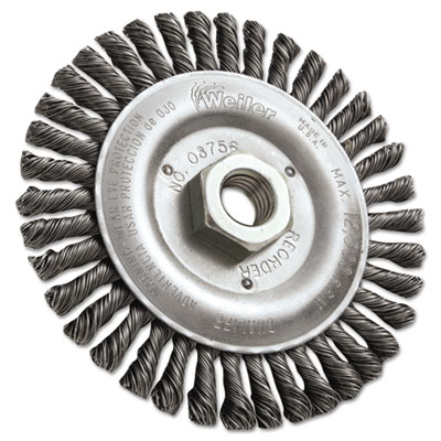 """Dualife stb-538 stringer bead twist knot wire wheel, 5"""""""" dia, sold as 1 each"""