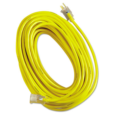 Yellow jacket power cord, 12/3 awg, 100ft, sold as 1 each