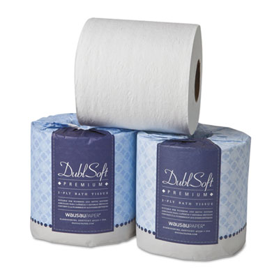 Dublsoft bath tissue, 2-ply, 80 rolls/carton, sold as 1 carton, 80 roll per carton