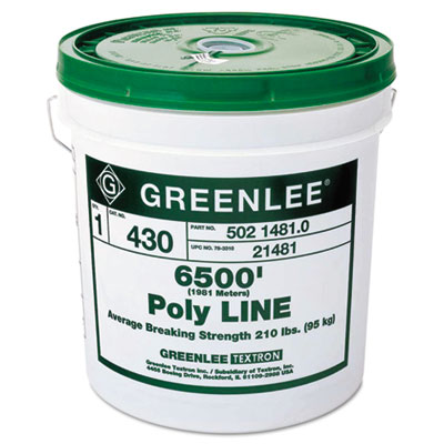Poly line, 6500 feet, sold as 1 each