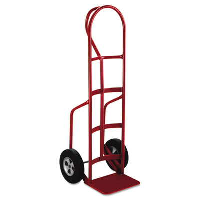 Heavy-duty hand truck, p handle, solid rubber wheels, sold as 1 each