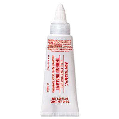 High-temperature thread sealant, 50ml tube, sold as 1 each