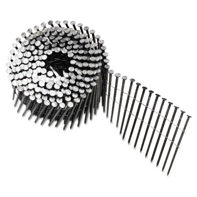 """Round head framing nail coil, 120, plain, 3""""""""dp, sold as 1 each"""