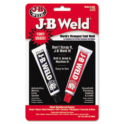 Cold-weld compound, 1 oz, dark gray, sold as 1 each