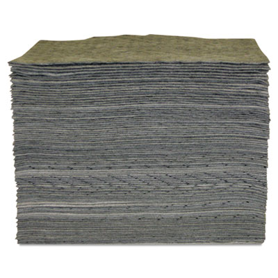 "Universal sorbent pad, 15"""" x 17"""", heavyweight, sold as 100 each"