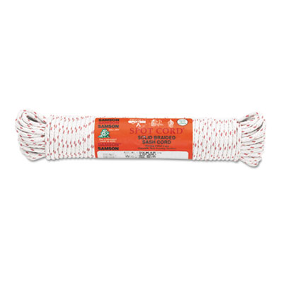 """Sash cord, 3/16"""""""" x 100ft, cotton, size group 6, sold as 1 each"""