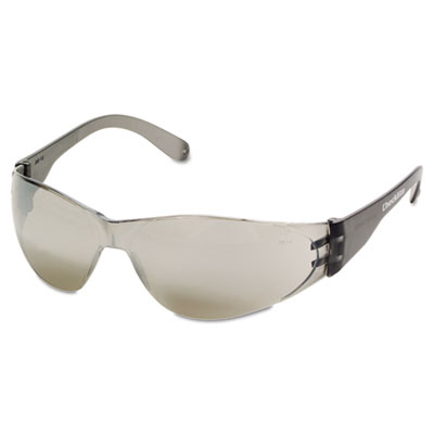 Checklite safety glasses, silver mirror lens, sold as 1 each