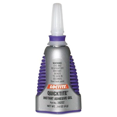 Quicktite instant adhesive gel, .14oz, sold as 1 each