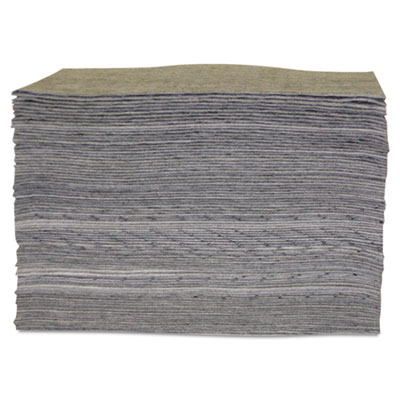 "Universal sorbent pad, 15"""" x 17"""", lightweight, sold as 100 each"