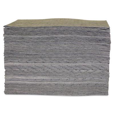 "Universal sorbent pad, 15"""" x 17"""", lightweight, sold as 100 each"