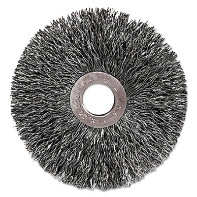 C-3 copper center small diameter wire wheel, .014 stainless steel, 1/23, sold as 1 each