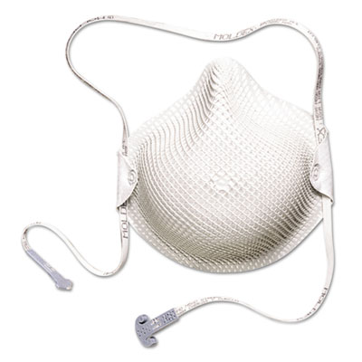 2600 series handystrap n95 particulate respirator, medium/large, sold as 15 each