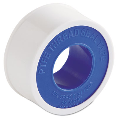 "Ptfe pipe thread tape, 3/4"""" x 520"""", -450?f to 550?f, sold as 1 each"