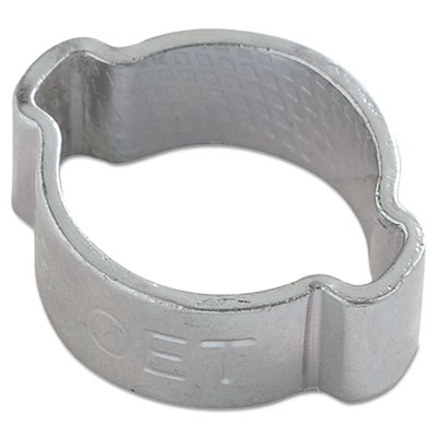 "Two-ear crimp clamp, 1/2"""" diameter, sold as 1 each"