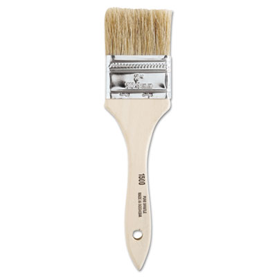 """Chinese bristle-chip brush, 2"""""""", white, sold as 24 each"""