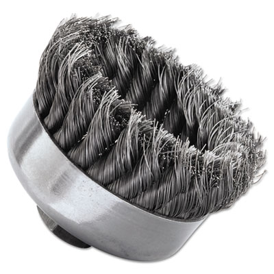 Sr-4 general-duty knot wire cup brush, .014, sold as 1 each