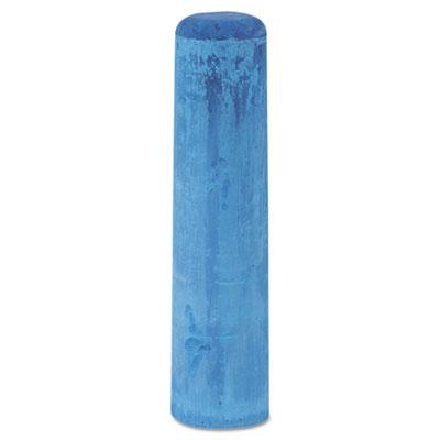 "Railroad crayon chalk, 4"" x 1"", blue, 72/box, sold as 1 box, 72 each per box"