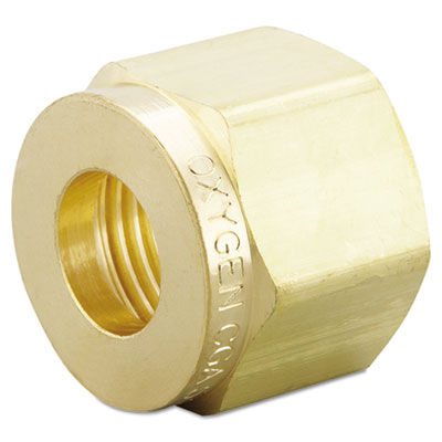 Cga-540 regulator inlet nut, sold as 1 each