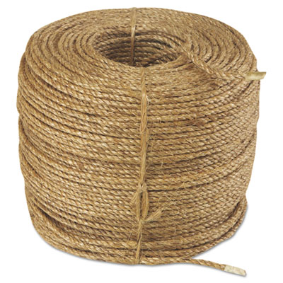 "Manila rope, 3-strand, 1/4"""" x 1200ft, 25lb, sold as 1 each"
