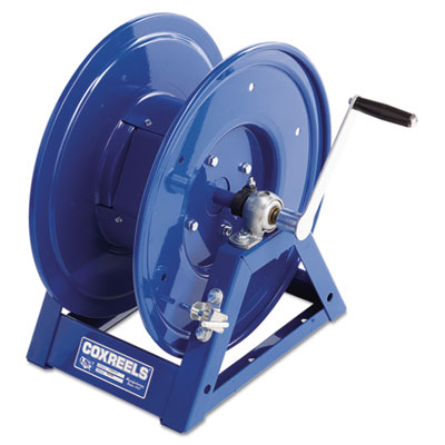 Large-capacity hand-crank welding-cable reel, sold as 1 each