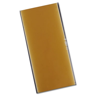 "Gold filter plate, 2"""" x 4"""", #11, glass, sold as 1 each"