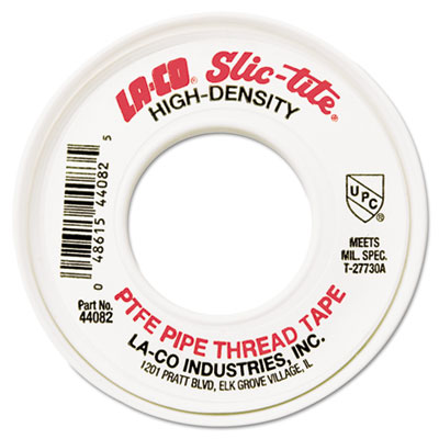 "Slic-tite ptfe thread tape, 1/2"""" x 300, sold as 1 each"