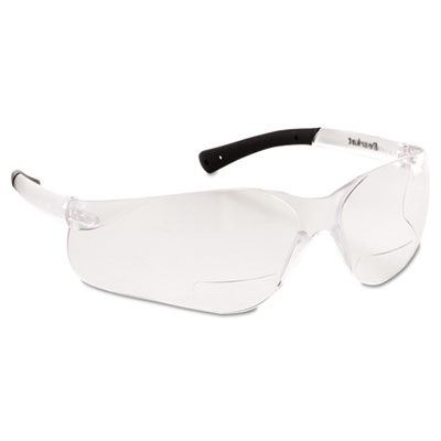 Bearkat magnifier protective eyewear, clear, 2.5 diopter, sold as 1 each
