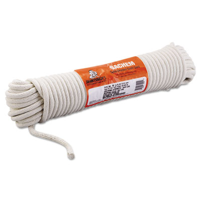 """Sash cord, 3/8"""""""" x 100ft, cotton, size group 12, sold as 1 each"""