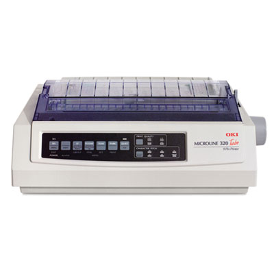 Microline 320 turbo serial 9-pin dot matrix printer, sold as 1 each