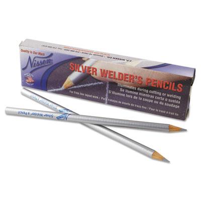 Silver welder's pencil, sold as 1 box, 12 each per box