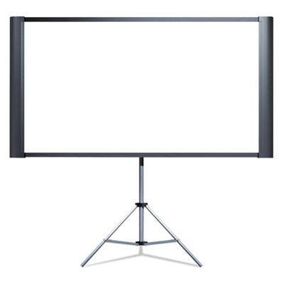 "Duet ultra portable projection screen, 80"" widescreen, sold as 1 each"