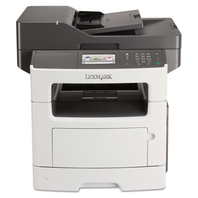 Mx511de multifunction laser printer, copy/fax/print/scan, sold as 1 each