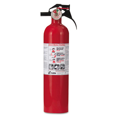 Full home fire extinguisher, 2.5lb, 1-a, 10-b:c, sold as 1 each